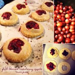 A Thanksgiving Sweet Treat! Gluten Free Cranberry Apple Mini Pies…