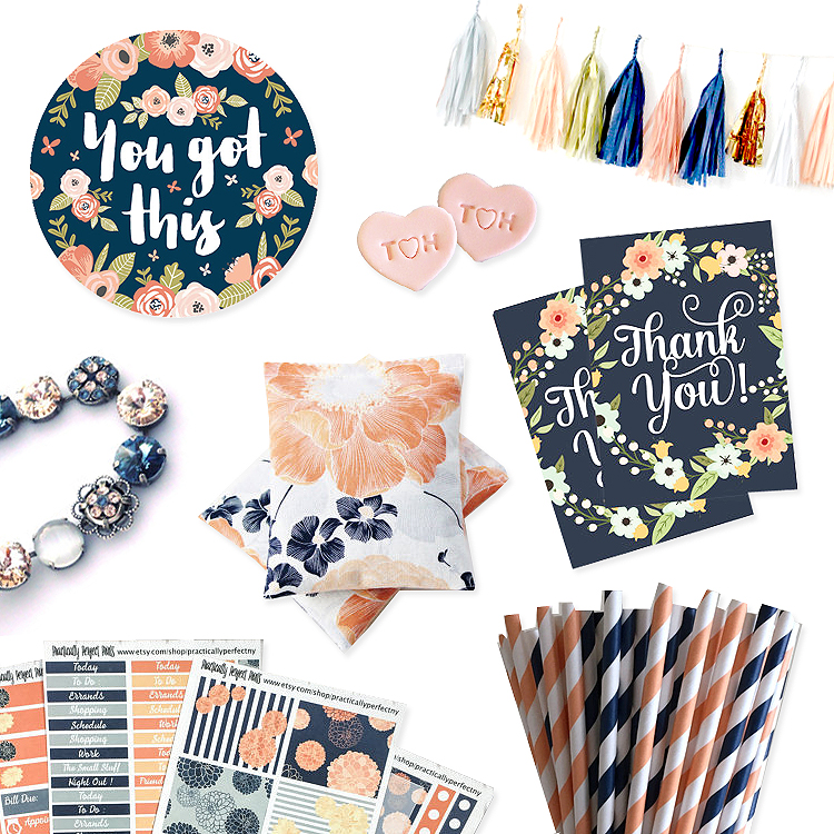 peach_navy_floral_accessories_wedding_thankyou_you_got_this