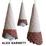 Have Ice Cream Every Night with Whimsical Lamps by Alex Garnett…