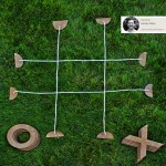 Challenge Your Summer Guests to Backyard Tic Tac Toe…