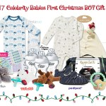 Giveaway: Enter to WIN a Jewels and Pinstripes Celebrity Babies First Christmas Girl Gift Bag!