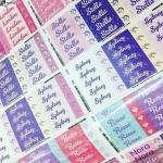 Brand new Mabels Labels Glitter Line