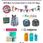Giveaway: Back to School Celebrity Kids Boy Gift Bag