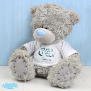 Personalised Me to You Bear 'To the Moon and Back'