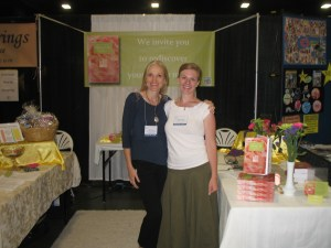 Felice and Heather at Convention