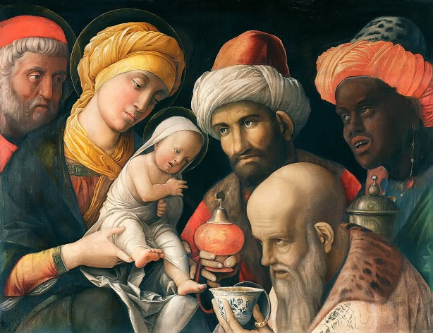 Adoration of the Magi, Andrea Mantegna 1500 (Image Source)