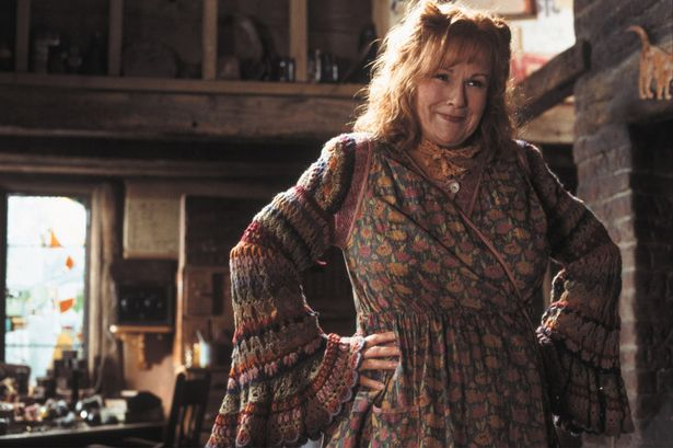 Harry Potter and The Chamber of Secrets. Pictured- Julie Walters (Mrs. Weasley)