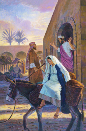 The Gift Of Giving Life Did Mary Really Ride A Donkey To