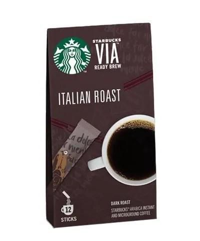Starbucks Italian Roast Ready brew 25g 12