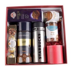 Starbucks and Davidoff Gift Hamper