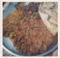 Mutton bhuna, bheja fry & gurda fry at Bade Miyan, Mumbai