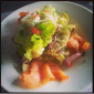 Fresh Salmon salad @ Cafe Noir, UB City