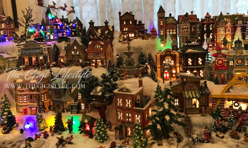 How to Build A Christmas Village Collection