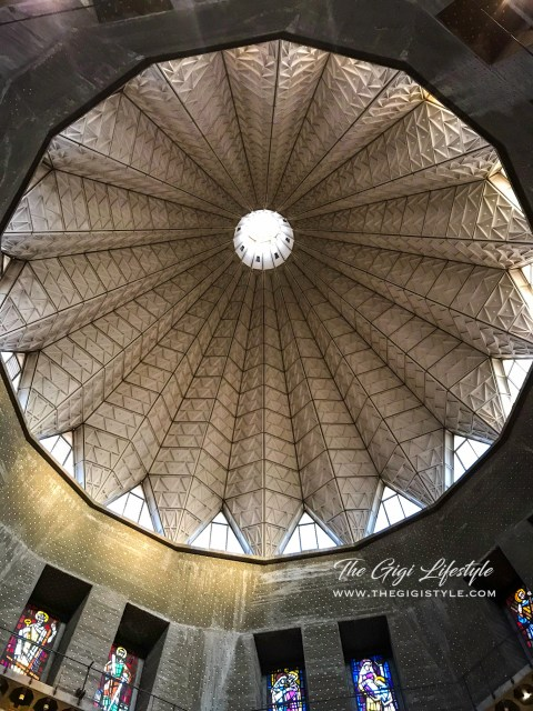 The dome alluding to the Virgin's flower - the lily