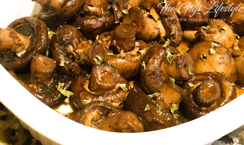 Easy Honey Balsamic Mushroom Recipe