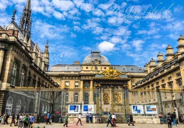 The Palais de Justice.