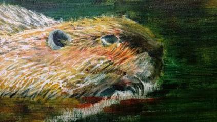 Susan Curington painting