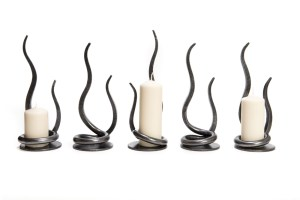 Candle holder/flame
