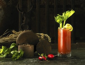the red snapper - Black tomato gin