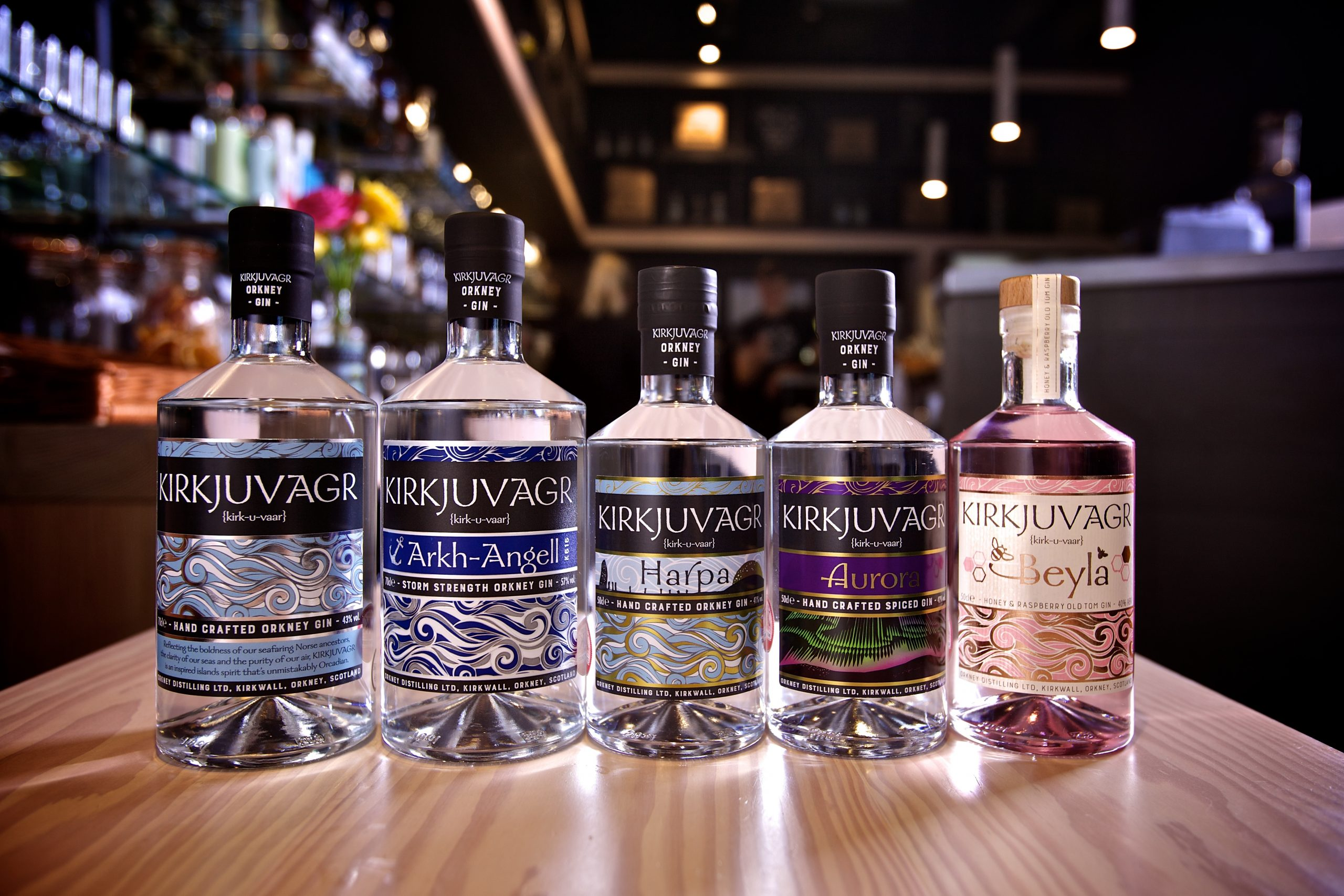 Treble medal haul for Orkney Distilling at World Gin Awards