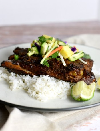 Slow Cooke Thai Turmeric Ribs