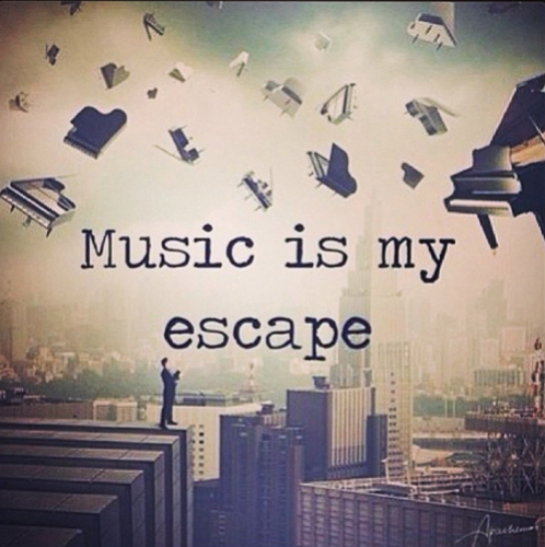 Music is My Escape – using music as a coping strategy