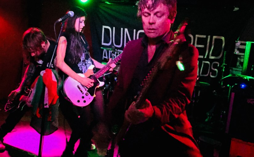 Duncan Reid & the Big Heads – Nice n Sleazy, Glasgow 6th October 2017