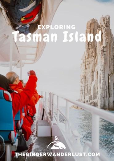 tasman island pin