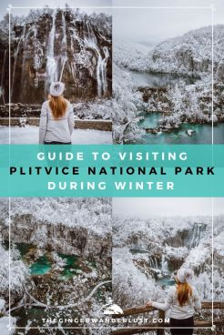 When you think of Plitvice Lakes National Park, you probably imagine it during summer, with the sun shining and everyone swimming by the waterfalls. However it is just as magical during winter! Not only do you have the potential to see it covered in snow but there are hardly any crowds and tickets are a lot cheaper. If you are considering a trip to Croatia this winter then keep reading my Guide to Visiting Plitvice Lakes National Park during Winter.