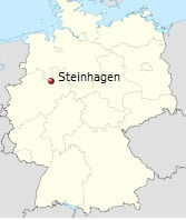 Steinhagen full Germany map