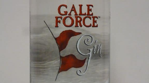Gale Force Gin Label