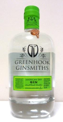 Greenhook Gin Bottle