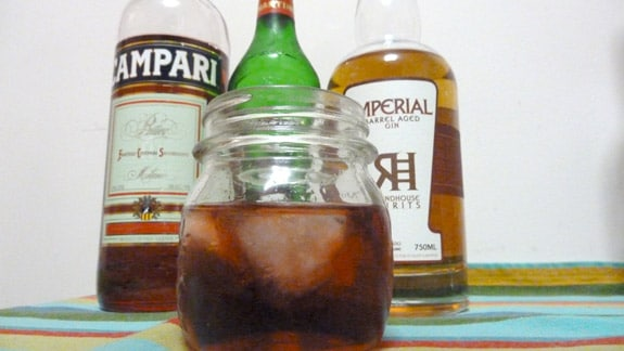 Mixed Negroni with Imperial Gin