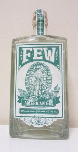 Few American Gin Bottle