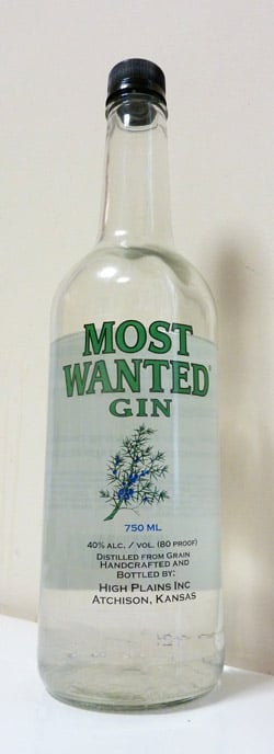 Most Wanted Gin