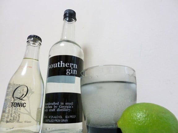 Southern Gin and Tonic