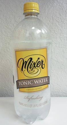 Mixer tonic water
