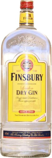 Finsbury 60% Gin