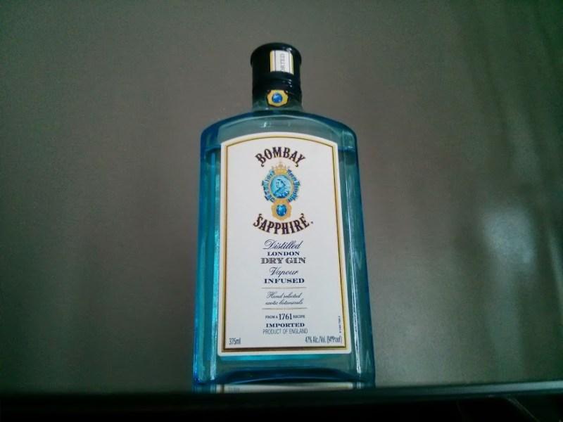 bombay sapphire bottle