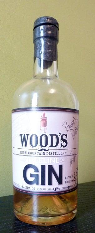 Wood's Barrel Rested Treeline Gin