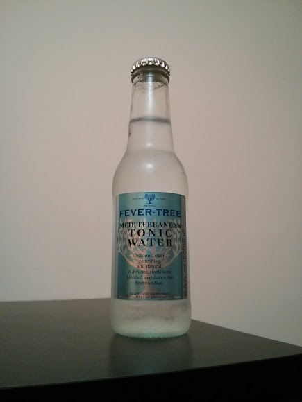 fever tree tonic bottle