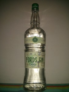 Ford's gin bottle