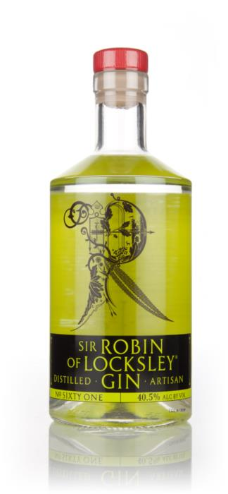 Sir Robin of Locksley Gin Bottle