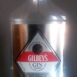 Gilbeys Gin Bottle