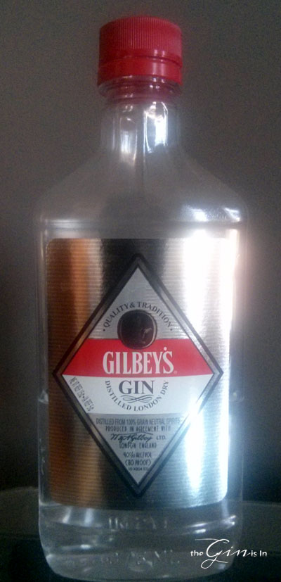 Gilbeys Gin Bottle