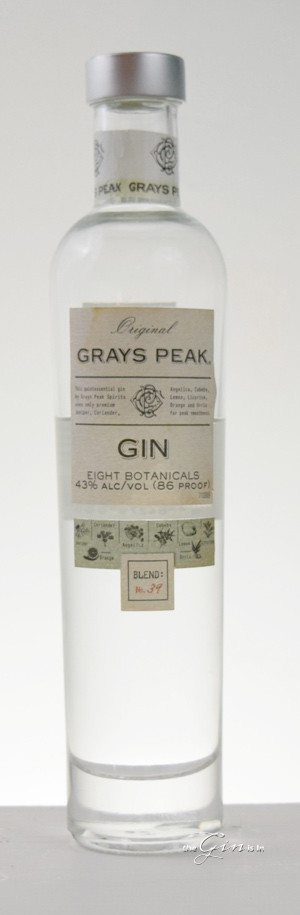 Grays Peak Gin