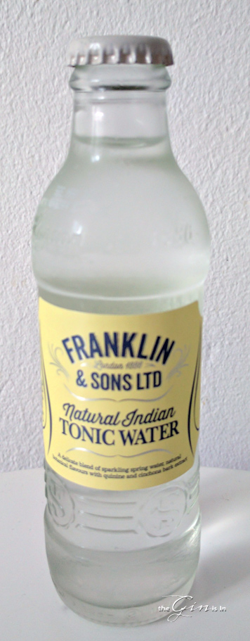 Franklin & Sons Ltd Natural Indian Tonic Water