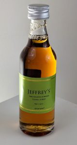 Jeffrey's Lime, Galangal and Orange Tonic Syrup