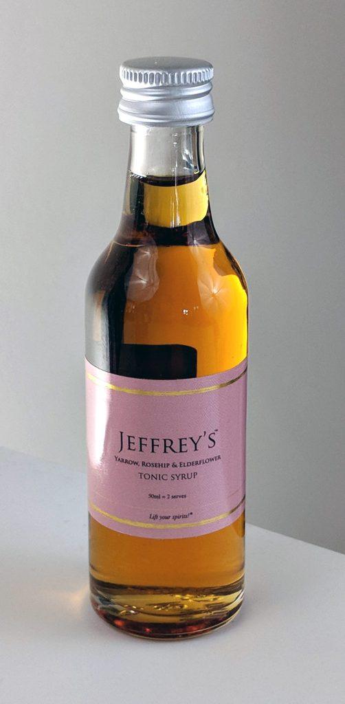 Jeffrey's Yarrow, Rosehip and Elderflower Tonic Syrup