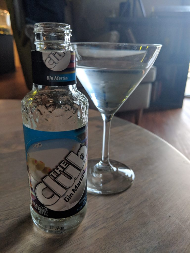 The Club Gin Martini